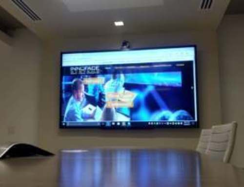 90″ LED With Integrated Web Conferencing