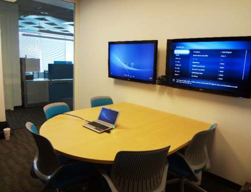 Intimate Audio Visual Huddle Rooms
