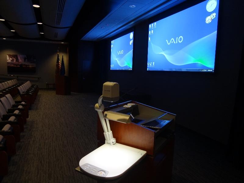 Audio Video Installation in Auditorium